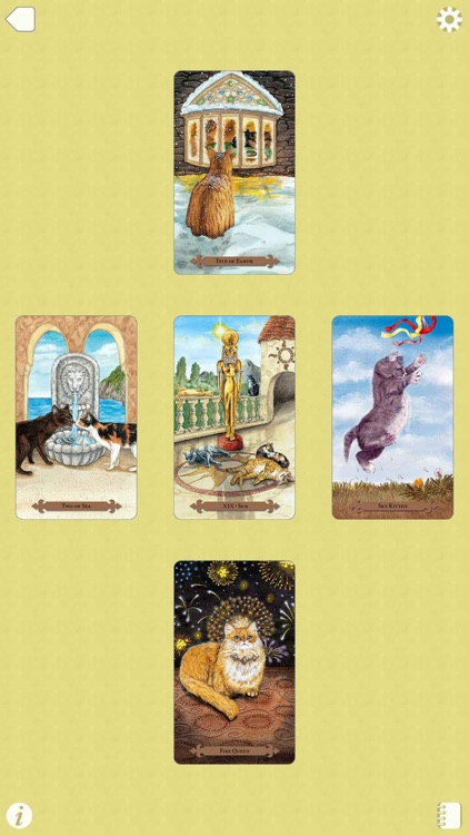 Mystical Cats Tarot screenshot-4