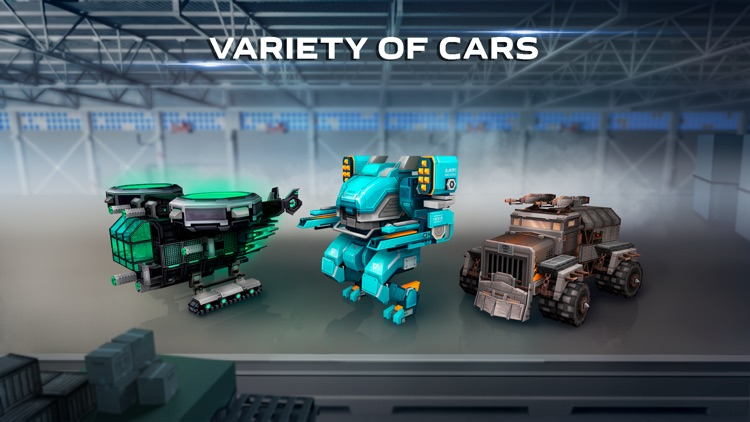 Blocky Cars Online - tank wars screenshot-2