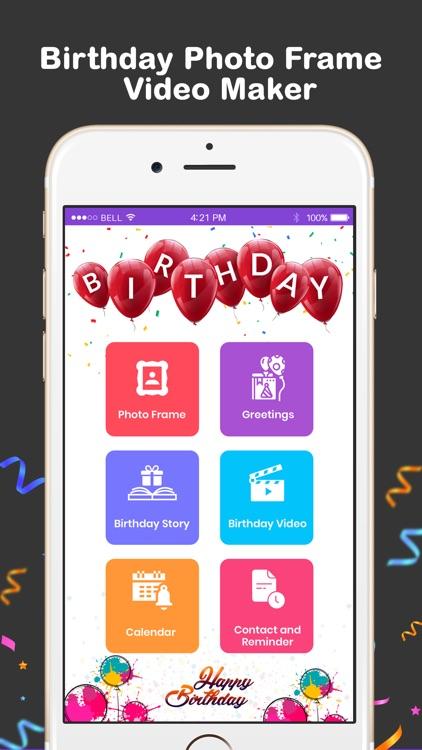 Birthday Reminder,Photo Editor screenshot-3