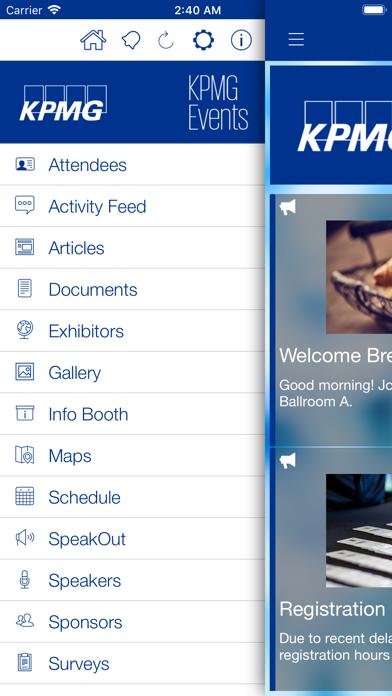 messages.download KPMG Events App software