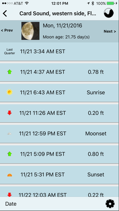 Noaa Buoy And Tide Data review screenshots