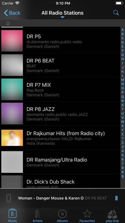 play:Sub Music Streamer screenshot-6