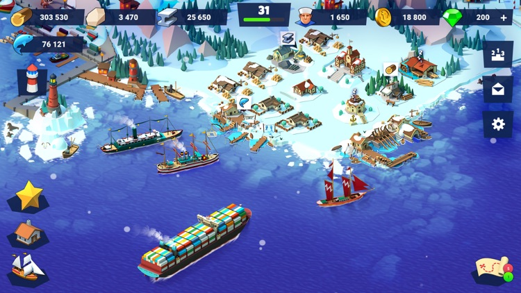 Sea Port: Ships & Trade Tycoon screenshot-4