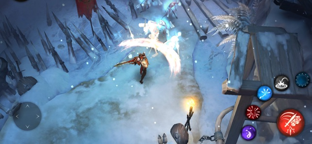 Blade Bound: Immortal Darkness, game for IOS