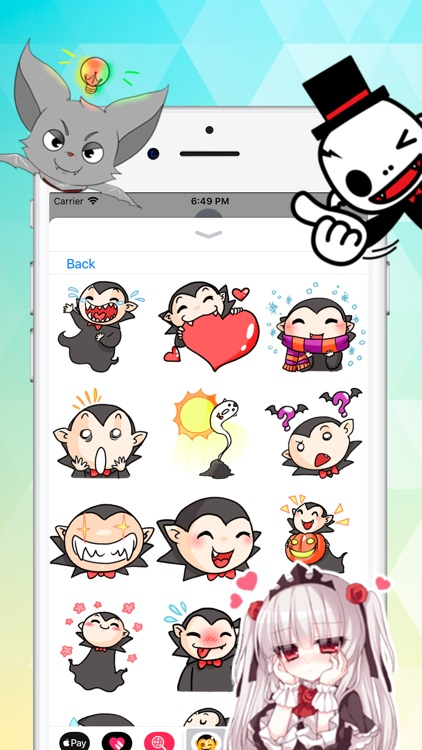 iStickers: Vampires screenshot-2