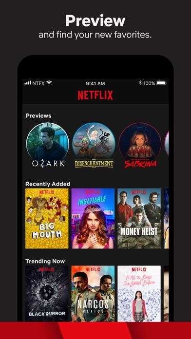 Screenshot for Netflix in Czech Republic App Store