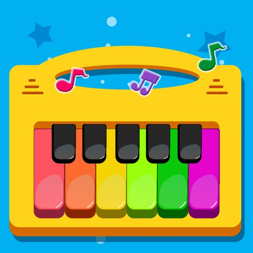 儿童游戏 - 早教弹钢琴音乐游戏