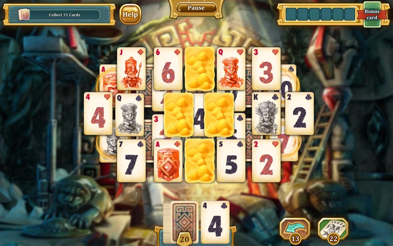 Solitaire Treasures of Time screenshot 2