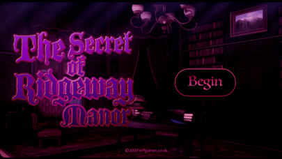 The Secret Of Ridgeway Manor screenshot 1