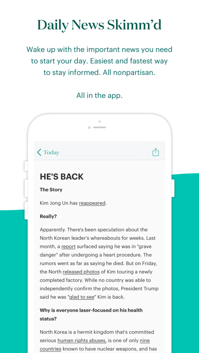 theSkimm Screenshot