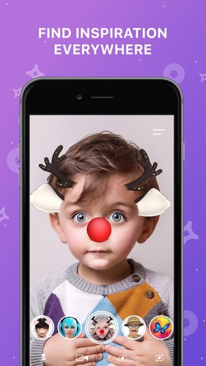 FunCam Kids: AR Selfie Filters screenshot-3