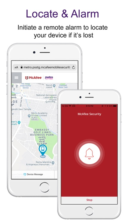 McAfee Security for Metro