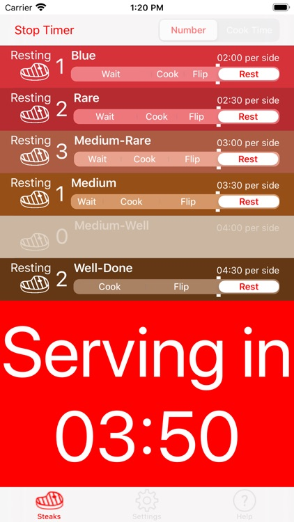 Steak Timer Pro screenshot-6