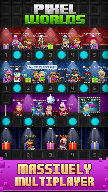 Pixel Worlds: MMO Sandbox screenshot-0