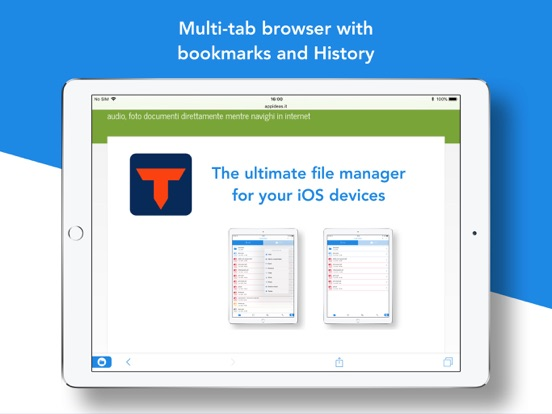 Total Downloader Free: browser with file manager and cloud storage support screenshot