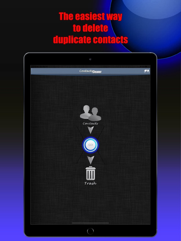 Contacts Cleaner Pro ! Screenshots