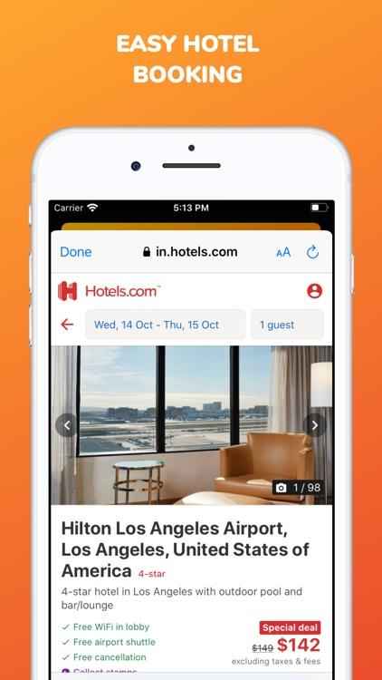 Last minute hotel booking app screenshot-4