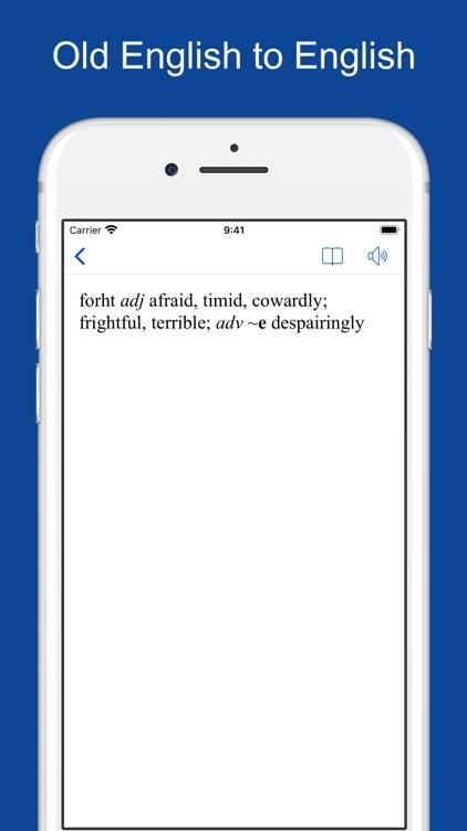 English-Old English Dictionary screenshot-9