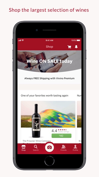 Vivino Wine Scanner ScreenShot0