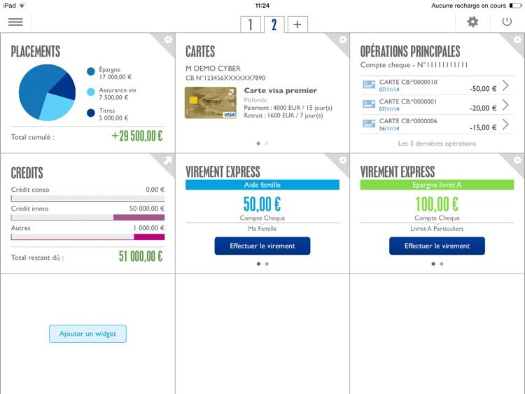 Banque Populaire pour iPad screenshot-4
