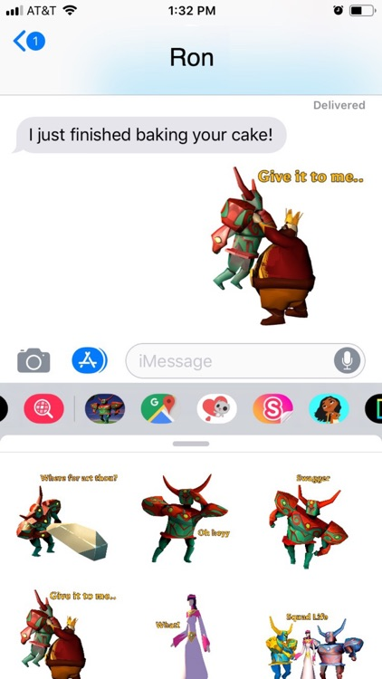 Roterra Game Emoji Stickers screenshot-3