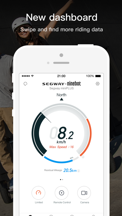 Segway-Ninebot by Ninebot (Beijing) Tech Co , Ltd  (iOS