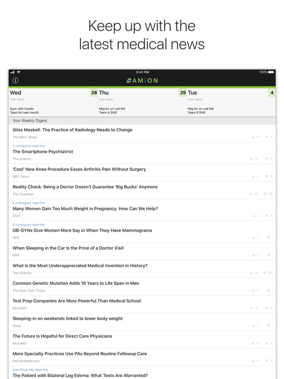 Amion - Physician Scheduling-ipad-2