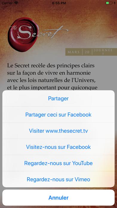 Screenshot #3 pour Le Secret - Enseignements