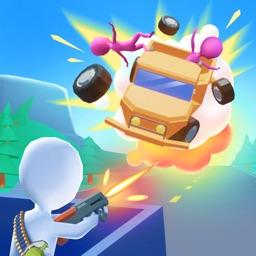 Bullet Rain 3D - Road Shooter