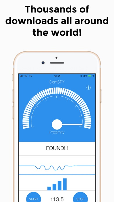 Screenshot for DontSpy 2 - detector in United Kingdom App Store