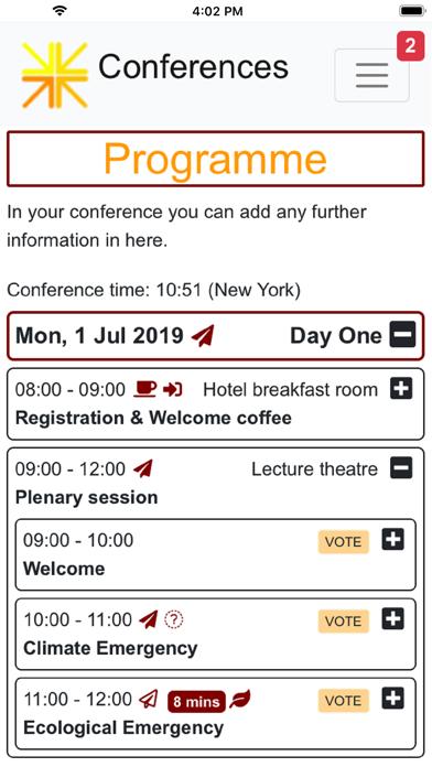 点击获取Conferences