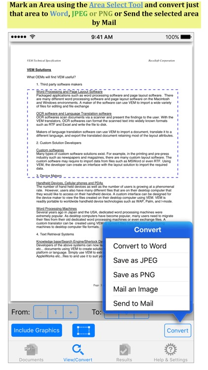 PDF to Word by PDF2Office screenshot-1