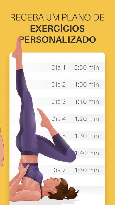Screenshot for Yoga-Go: Torne-se Saudável in Brazil App Store