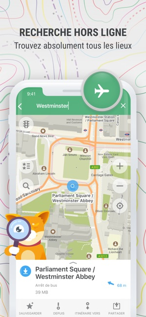 Carte Espagne Hors Ligne.Maps Me Cartes Et Itineraire Dans L App Store