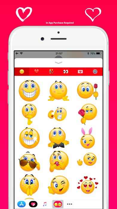ラブ絵文字 - メッセージのかわいい絵文字のスクリーンショット2