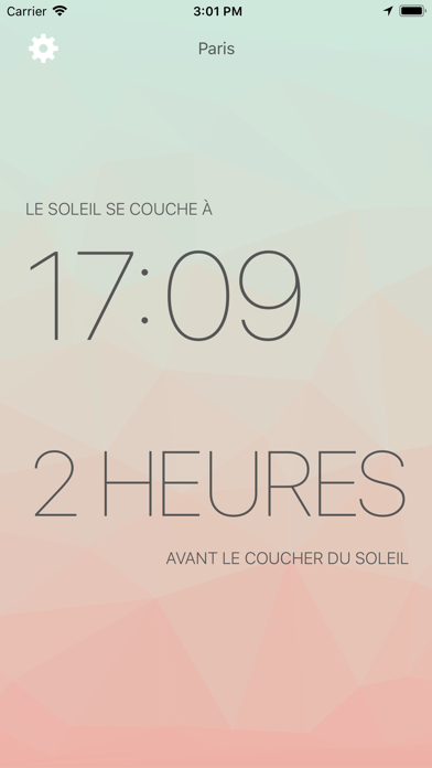 Screenshot #1 pour Lux - Sunrise and Sunset