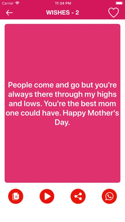 Mother's Day Wishes screenshot-5