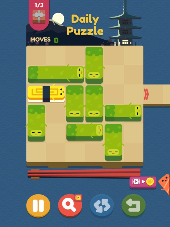 Push Sushi - slide puzzle screenshot 8