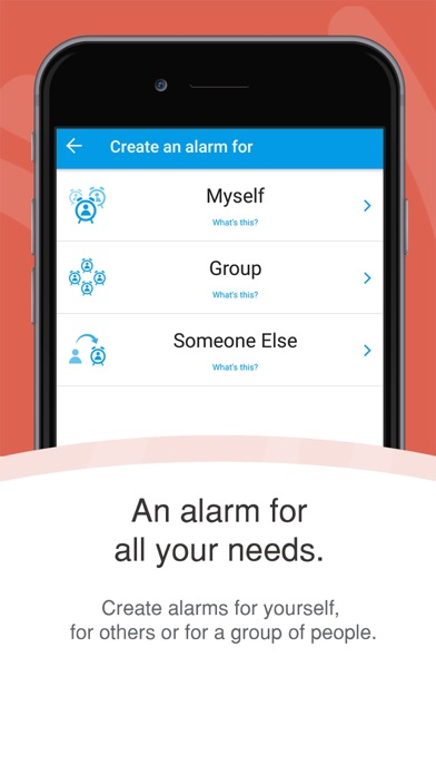 Galarm - Alarms and Reminders screenshot one
