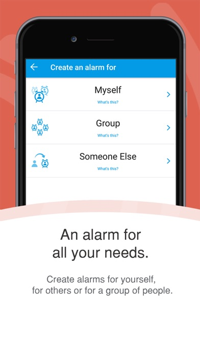 Galarm - Alarms and Reminders screenshot one
