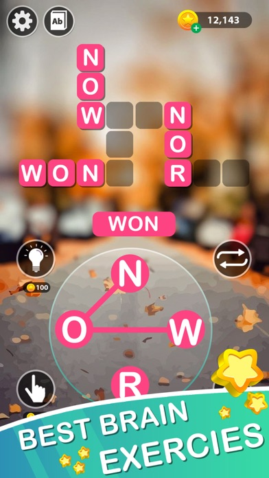 Word Link Classic Puzzle screenshot 3