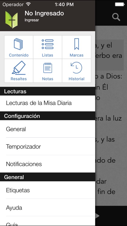Biblia Católica screenshot-3