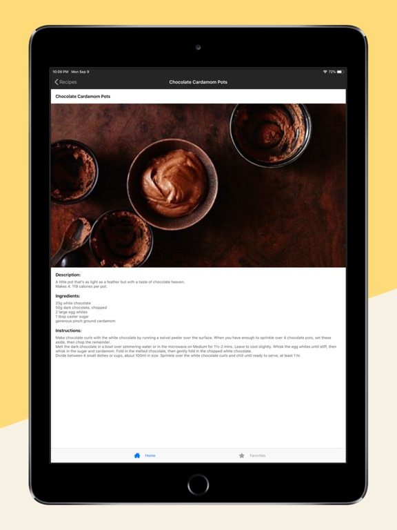Healthy Desserts - Recipes to cook yourself thin screenshot