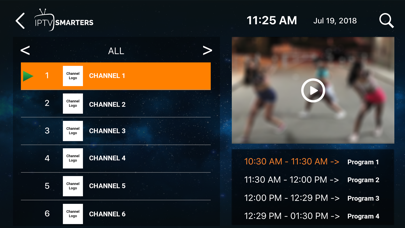 messages.download IPTV-Smarters Player software