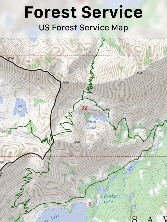 Aplikacja Topo Maps W App Store