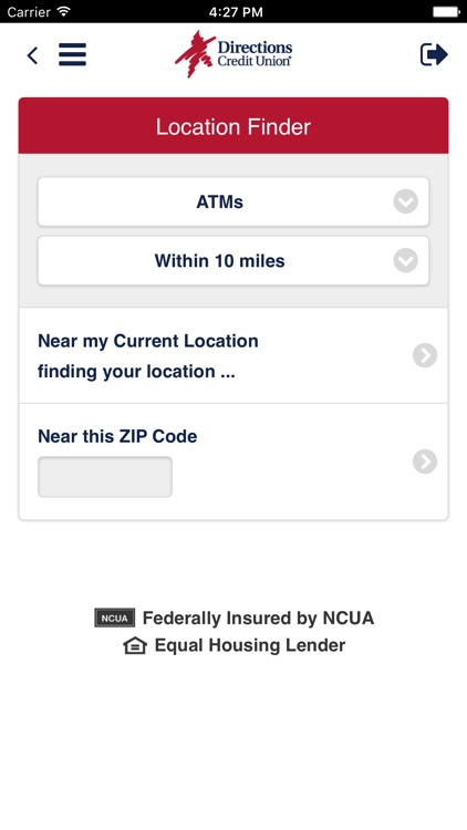 Directions CU Mobile Banking screenshot-3