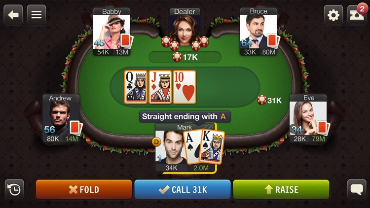 Poker Game: World Poker Club screenshot-0