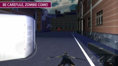 Zombie Target: War Death City screenshot 2