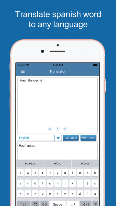 Spanish Dictionary &Translator screenshot four