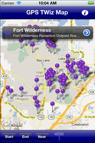 GPS Transportation Wizard WDW - náhled